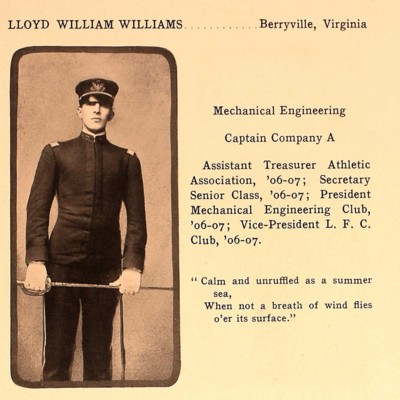 Lloyd William Williams from the 1907 VPI Bugle.jpg