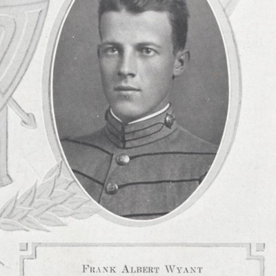Frank Albert Wyant senior portrait from the 1913 VPI Bugle.jpg