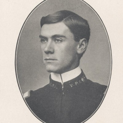Leslie Clyde Burton senior portrait from the 1904 VPI Bugle.jpg