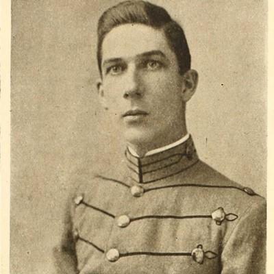 Clarence Edward Cox senior portrait from the 1914 VPI Bugle.jpg