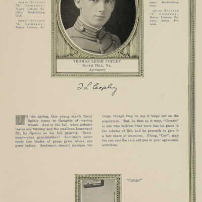 Thomas Leigh Copley from the 1922 VPI Bugle.jpg