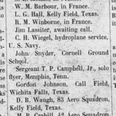 Tech Birdmen - The Virginia Tech - 31 January 1918.jpg