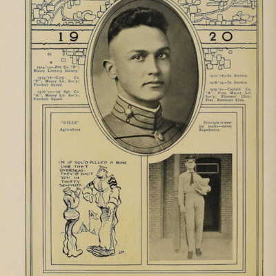 Walter Lee Turner, Jr from the 1920 VPI Bugle.jpg