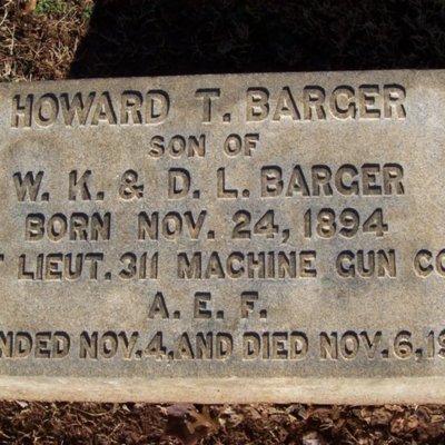 Barger, Howard T.
