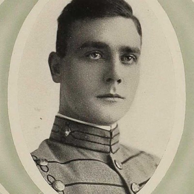 Clifford A. Cutchins senior portrait from the 1915 Bugle.jpg