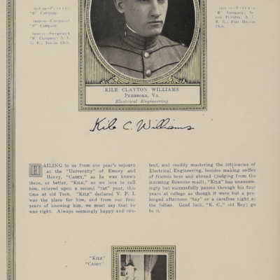 Kile Clayton Williams from the 1922 VPI Bugle.jpg