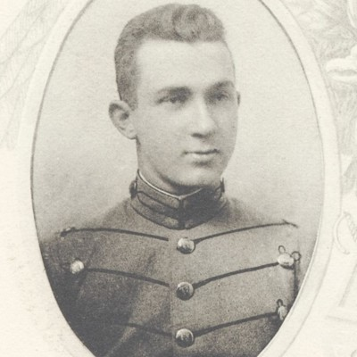 Otis Spottswood Smith, Jr senior portrait from the 1912 VPI Bugle.jpg