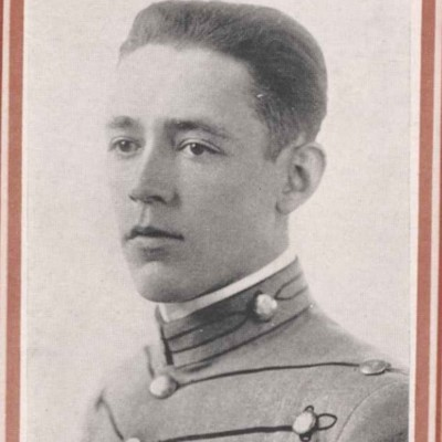 Maximilian Clay senior portrait from the 1916 Bugle.jpg