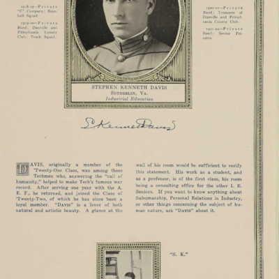 Stephen Kenneth Davis from the 1922 VPI Bugle.jpg