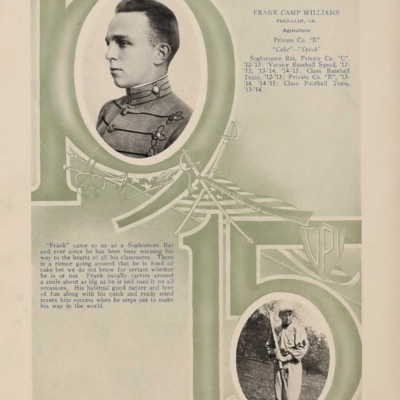 Frank Camp Williams from the 1915 VPI Bugle.jpg