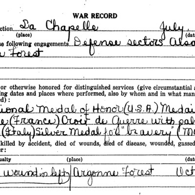 Excerpt - Earle Davis Gregory WW1 Questionairre.jpg