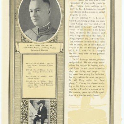 Otway Giles Bailey Jr. from the 1923 VPI Bugle.jpg