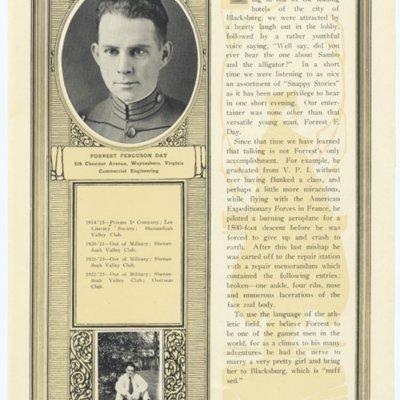 Forrest Ferguson Day from the 1923 VPI Bugle.jpg