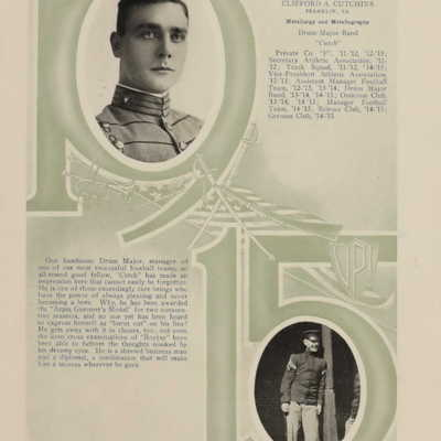 Clifford A. Cutchins from the 1915 Bugle.jpg
