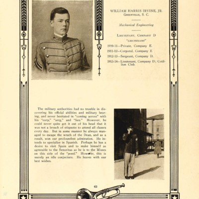 William Harris Irvine Jr from the 1914 VPI Bugle.jpg
