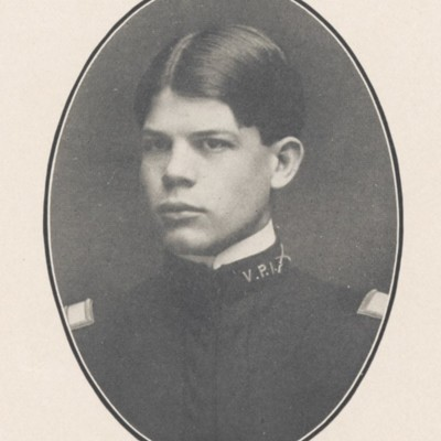 James A. B. Gibson senior portrait from the 1904 VPI Bugle.jpg