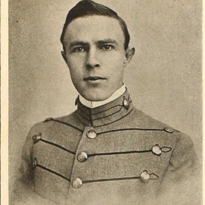 Clive Metcalfe, Jr. senior portrait from the 1914 VPI Bugle.jpg