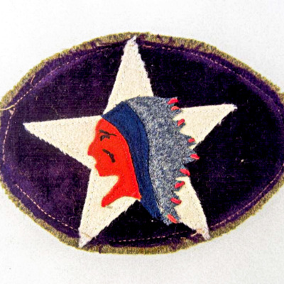 Shoulder sleeve insignia of the 6th Marines Machine Gun Battalion, from an unidentified Marine.jpg