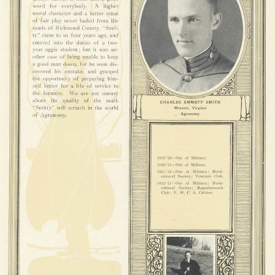 Charles Emmett Smith from the 1923 VPI Bugle.jpg