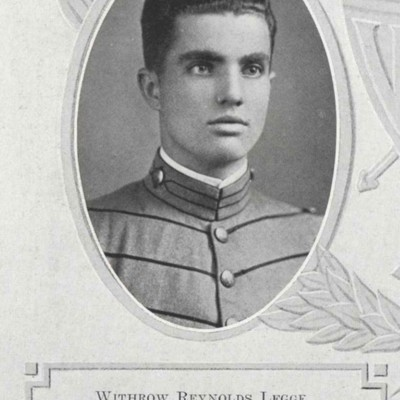 Withrow Reynolds Legge senior portrait from the 1913 VPI Bugle.jpg